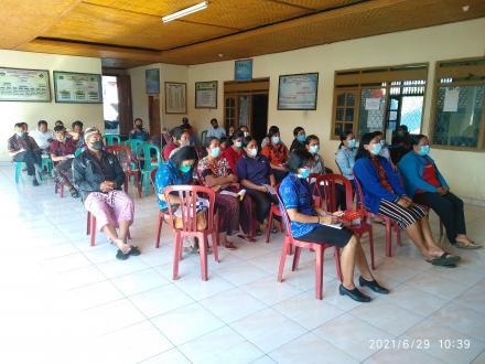 Rembuk stunting Desa Pedawa